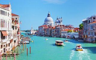 Vertrek op vaarvakantie - Venetië