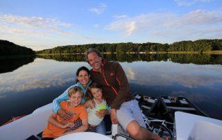 Vertrek op vaarvakantie - familie (foto: TUI)