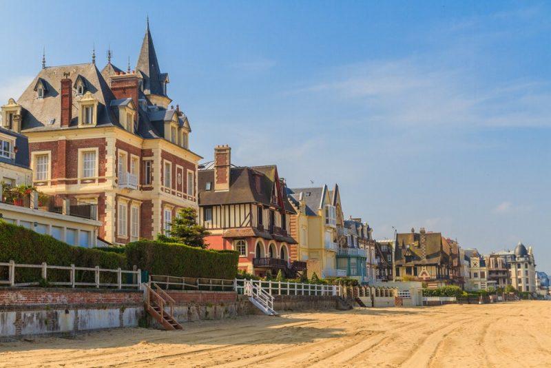 Charmant logeren aan de Normandische kust - Trouville sur Mer - promenade