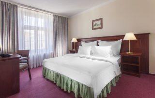 Citytrip Praag - Hotel Lunik - kamer