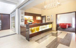 Citytrip Praag - Hotel Lunik - lobby