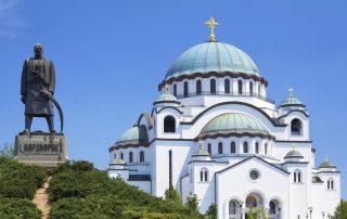 Rondreis door het voormalige Joegoslavië - Kathedraal van de Heilige Sava
