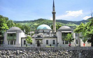 Het voormalige Joegoslavië - Keizermoskee Sarajevo