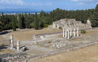 Kos, de favoriete bestemming van collega Philip - Asklepeion ruïnes