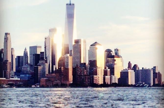 New York, de favoriete bestemming van collega Eveline - New York skyline