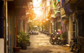 Rondreis Vietnam - Kleine straat - Ho Chi Minh City