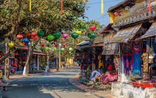 Rondreis Vietnam - Kleurrijke straat - Hoi An