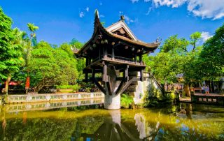 Rondreis Vietnam - One Pillar pagoda - Hanoi