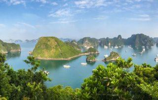 Rondreis Vietnam - Panorama - Halong Bay