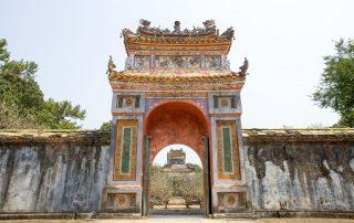 Rondreis Vietnam - Praalgraf van Keizer Tu Duc - Hue