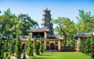 Rondreis Vietnam - Thien Mu Pagoda - Hue