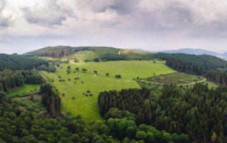 Sauerland - Land der 1.000 bergen - pano