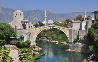 Rondreis door het voormalige Joegoslavië - brug Stari Most - Mostar