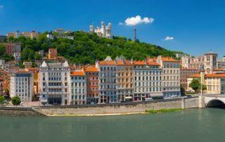 3-daagse Lyon - De hoofdstad van de gastronomie - panorama van Lyon