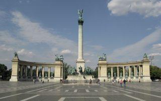4 daagse citytrip aan de Donau Budapest - Heldenplein