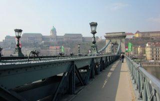 4 daagse citytrip aan de Donau Budapest - Kettingbrug