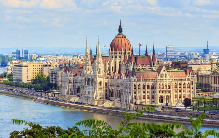 4-daagse citytrip Boedapest - Parel van de Donau - Parlement