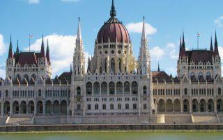 4 daagse citytrip aan de Donau Budapest - Parlement