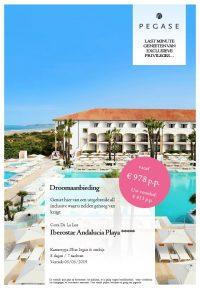 Last Minutes en Promoties - Pegase - Costa De La Luz - Iberostar Andalucia Playa