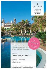 Last Minutes en Promoties - Pegase - Gran Canaria - Lopesan Ville Del Conde