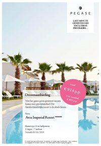 Last Minutes en Promoties - Pegase - Kreta - Avra Imperial Resort