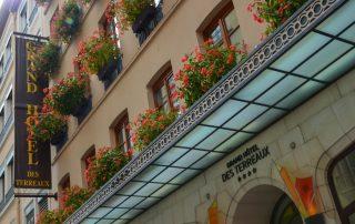 Lyon, hoofdstad van de gastronomie - Grand hotels des terreaux