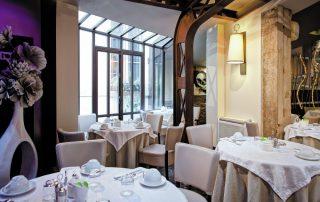 Lyon, hoofdstad van de gastronomie- restaurant Grand hotels des terreaux