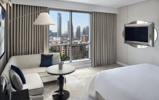 Overnachten in Downtown Dubai - kamer - Address Downtown