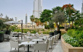 Overnachten in Downtown Dubai - secret garden - Address Downtown