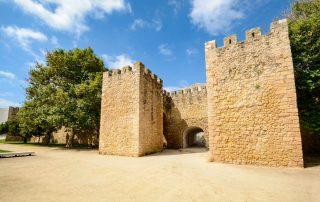 Portugal, de favoriete bestemming van collega Josephine - Muren en stadspoort naar oude gedeelte Lagos