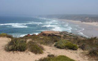 Portugal, de favoriete bestemming van collega Josephine - Strand in de buurt van sagres