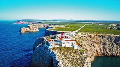 Portugal, de favoriete bestemming van collega Joséphine - vuurtoren Sagres