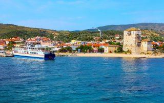Rondreis Halkidiki – Langs mooie ongerepte Griekse kusten -haven - Ouranoupoli - Athos