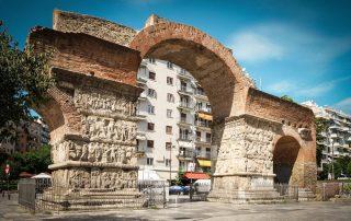 Rondreis Halkidiki – Langs mooie ongerepte Griekse kusten - triomfboog van Galerius - Thessaloniki