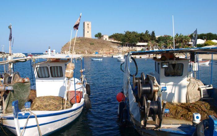Rondreis Halkidiki – Langs mooie ongerepte Griekse kusten - vissersboten - Nea Fokea - Kassandra