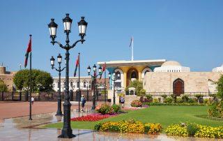Rondreis Oman - Al Alam Paleis - Muscat