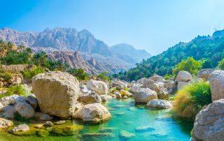 Rondreis Oman - Wadi Tiwi