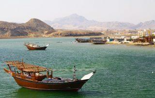 Rondreis Oman - oud houten schip - Sur
