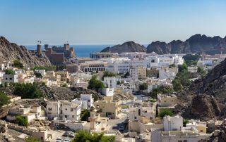 Rondreis Oman - oude stad van Muscat