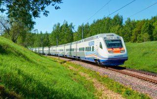 Rondreis Rusland en de Baltisch Staten - Allegro sneltrein