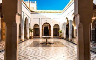 Marrakech - Bahia Paleis