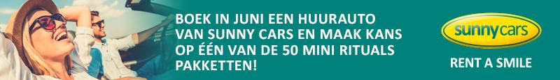 Juni actiemaand Sunny Cars - banner