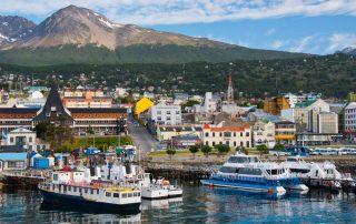 Rondreis Argentinië en Patagonië met Chileense afsluiter - haven - Ushuaia
