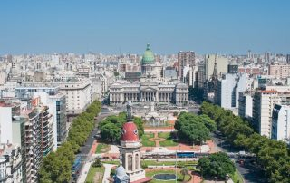 Rondreis Argentinië en Patagonië met Chileense afsluiter - pano Buenos Aires