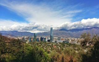 Rondreis Argentinië en Patagonië met Chileense afsluiter - pano Santiago - Chile