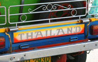 Rondreis Thailand - TukTuk