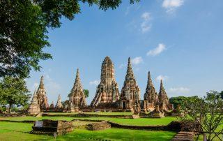 Rondreis Thailand - Wat Chaiwatthanaram tempel - Ayutthaya