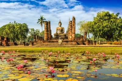 Rondreis Thailand - Wat Mahathat - Sukhothai