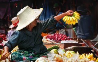 Rondreis Thailand - drijvende markt - Bangkok
