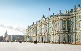 Rusland, de favoriete bestemming van collega Laura - Winterpaleis - Sint Petersburg